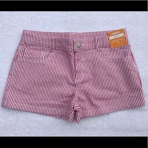 Gymboree Striped Shorts Size 12 NWT